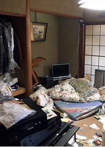 【2R】亡くなられた方のお部屋の整理【118,000円】の施工前