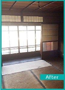 【8DK】戸建ての遺品整理・美術品の買取【165,000円】の施工後