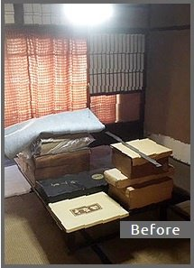 【8DK】戸建ての遺品整理・美術品の買取【165,000円】の施工前