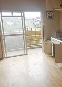 【3DK】原状復帰のための作業【234,000円】の施工後