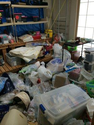 施設入居に伴う整理:札幌市東区の施工前