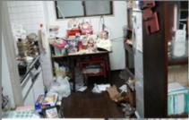遺品整理・特殊清掃の施工前