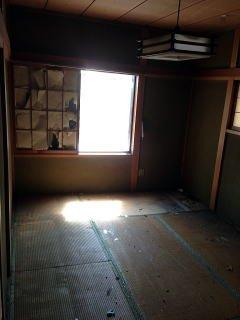 戸建て住宅 和室清掃の施工後