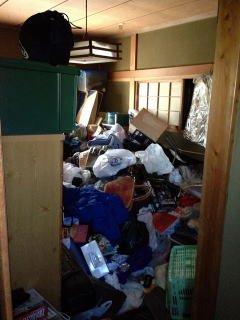 戸建て住宅 和室清掃の施工前