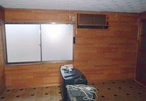 【平屋1軒、2LDK】床が見えないお部屋での作業の施工後