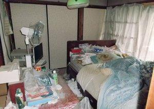 6畳1間のお部屋の整理 /福祉住環境整理の施工前