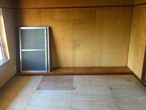 公営住宅の孤独死現場の特殊清掃の施工後