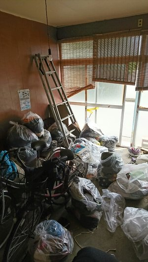 【3DK】1軒屋の遺品整理(神奈川県横浜市)の施工前