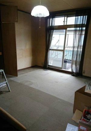 5LDKの戸建て住宅の家財整理の施工後