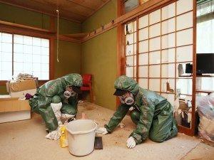 特殊清掃の施工前