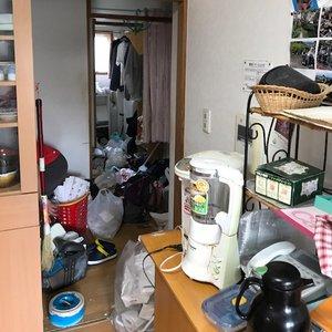 施設入居前整理1の施工前