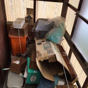 ご自宅の解体に伴う空き家片付けの施工前