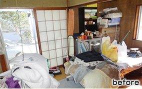 遺品整理(新潟県長岡市)の施工前
