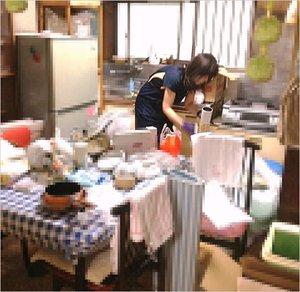 【2DK】大和市での遺品整理の施工前