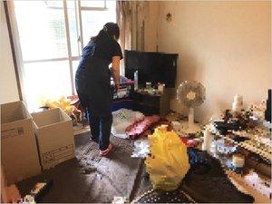【2DK】都営住宅での遺品整理の施工前
