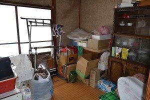 【3LDK】平屋の遺品整理【121,424円】の施工前