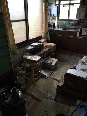 【1DK】回収した遺品を寄付させていただきました【64,000円】の施工後