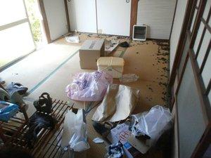 ネコ屋敷清掃のご依頼の施工前