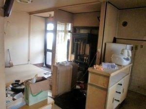 一戸建ての家財整理の施工前