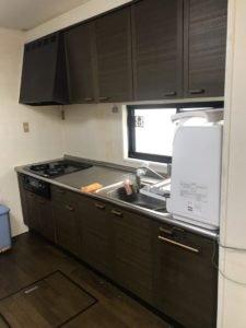 キッチン改修工事の施工前