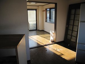 【3DK】ゴミ屋敷の片付け(2階建てマンション2階)の施工後