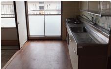 遺品整理・清掃:キッチンの施工後