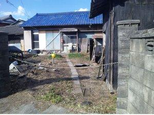 庭の整備の施工後