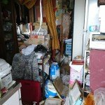 ゴミ屋敷と化したお部屋の施工前