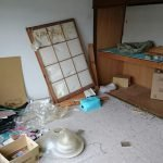 家財の整理・不用品処分の施工前