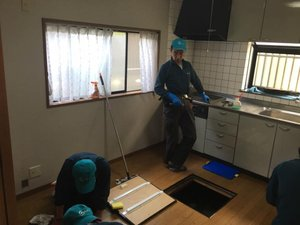 生前整理とルームクリーニングのご依頼(神奈川県川崎市高津区)の施工後