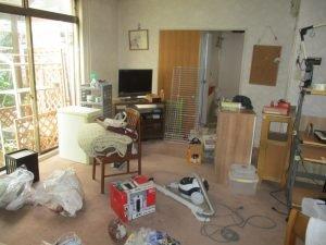【4SLDK】物置やお庭の清掃まで行いましたの施工前