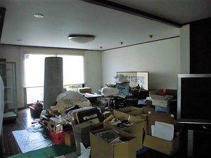 生前整理・模様替え(東大阪市)の施工前