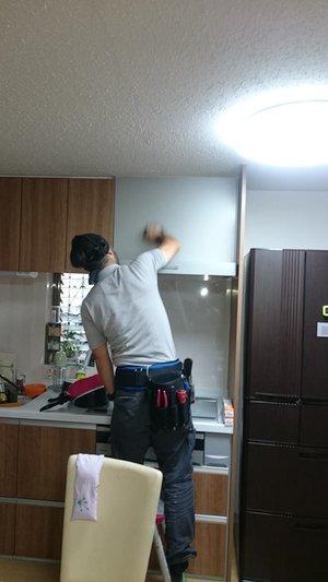 ハウスクリーニング・生前整理(大坂市東成区)の施工前