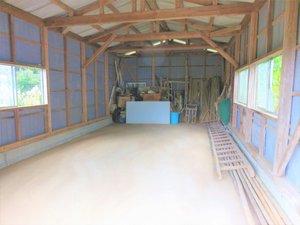 約50m2の物置、農機具、作業小屋の片付けの依頼の施工後