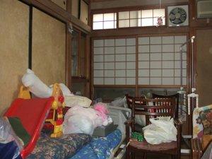 【3DK+3DK 二世帯住宅】 生前整理・850,000円の施工前