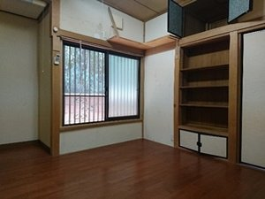 【5部屋+納戸+共有スペース】 生前整理・746,000円 「施設入所に伴う生前整理でした」の施工後