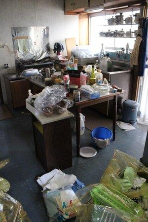 キッチン(6畳)の場合の施工前