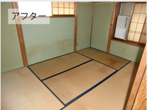 【5LDK】ゴミ屋敷手前の一軒家【336,000円】の施工後