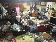 【3LDK】マンションのゴミ屋敷清掃:立ち合いなしでも対応いたします。の施工前