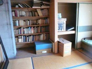書籍は資源としてリサイクル・図書館への寄贈などもおこなっております。の施工前