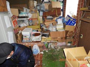遺品整理と引越し・家屋解体の施工前