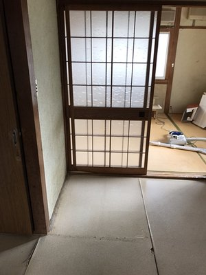 【2DK】遺品整理と家庭用サウナの解体の施工後