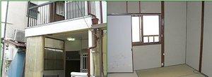 神戸市(戸建て)での遺品整理の施工後