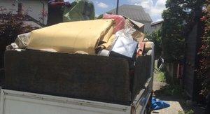タンスやテレビ台などの残置物撤去の施工後