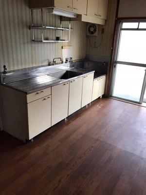 家財整理およびトイレ掃除と脱臭作業の施工後