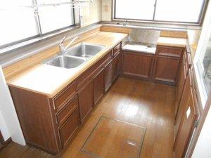 事例5・キッチンなど水回りの清掃の施工後