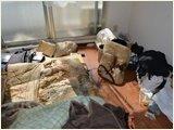 【岡山県】孤独死現場の特殊クリーニング・除菌と脱臭・遺品の処分の施工前