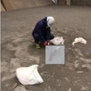 坂出市の倉庫にて特殊清掃の施工前