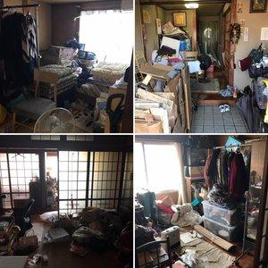 香川県丸亀市で遺品整理の施工前
