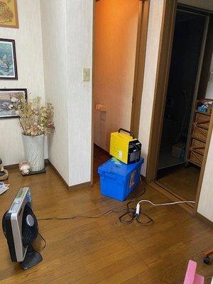 トイレでの特殊清掃 ご依頼に即対応いたしますの施工後